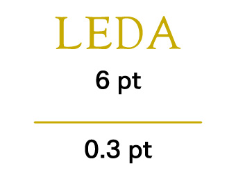 箔押し文字は6pt以上、線は0.3pt以上を推奨