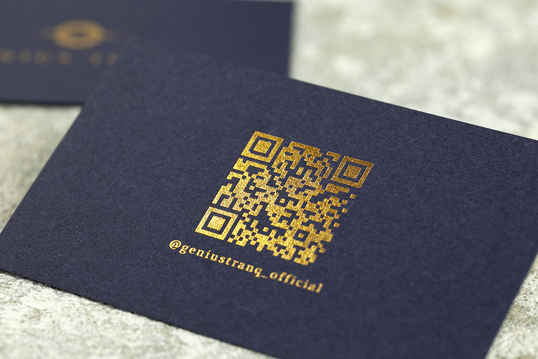 製作事例 No.20 箔押しショップカード印刷のイメージ画像5